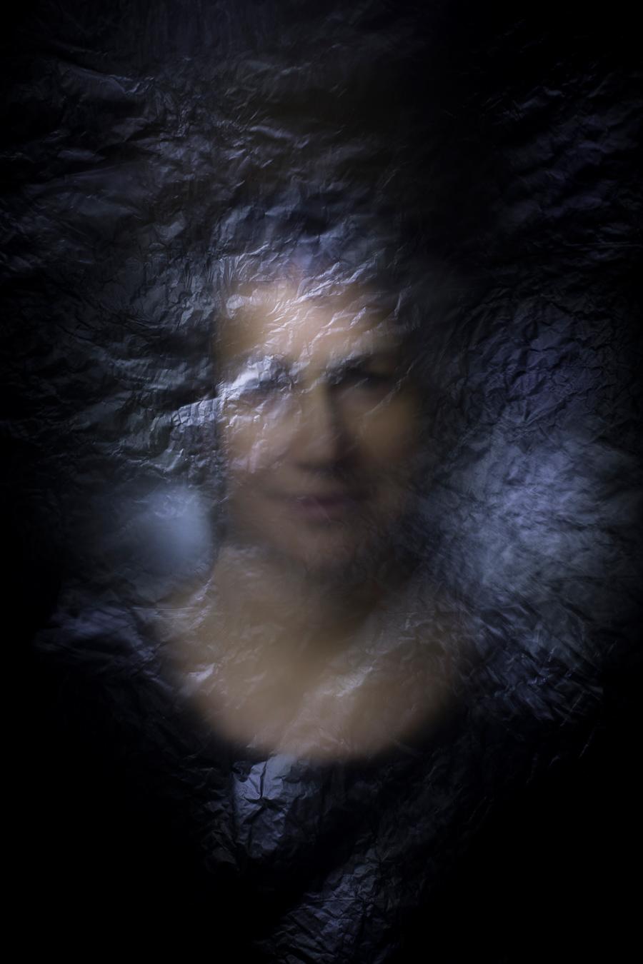Fotografia di una dea Ecate