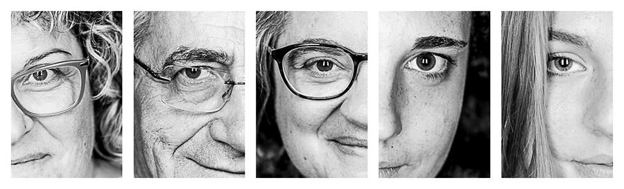 Ritratti di senior, alle bonicalzi. IO CI SONO!, mostra fotografica, Como,