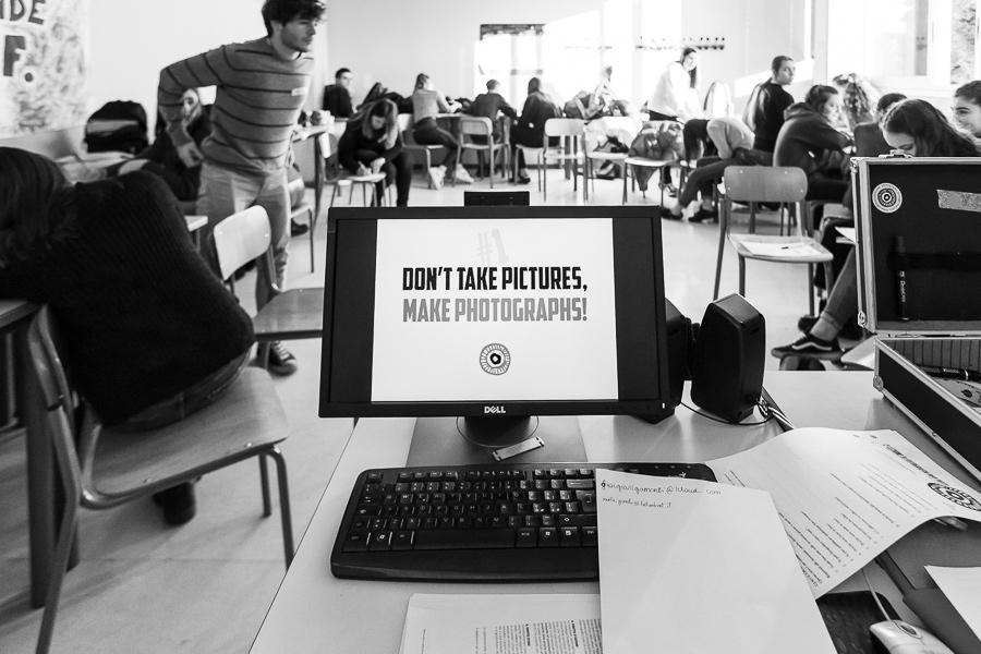 tornare a scuola, liceo Terragni, percorso fotografico