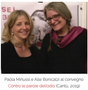 Paola Minussi, Alle Bonicalzi, Indicibile,